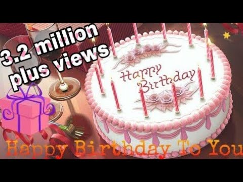 Happy Birthday to you | birthday song | birthday cake | whatsapp status video | by royal feel