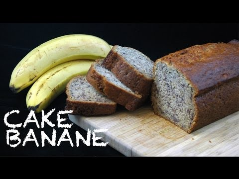 cake la banane banana bread usa recette de cake. Black Bedroom Furniture Sets. Home Design Ideas
