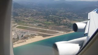 Corsair International Boeing 747-422 | Paris Orly to Ajaccio *Full Flight*