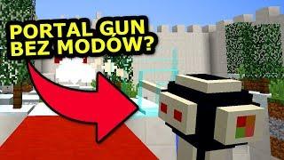 PORTAL GUN BEZ MODÓW - Minecraft