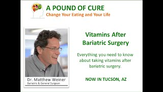 Vitamins After Bariatric Surgery