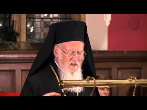 The Ecumenical Patriarch, Bartholomew I of Constantinople