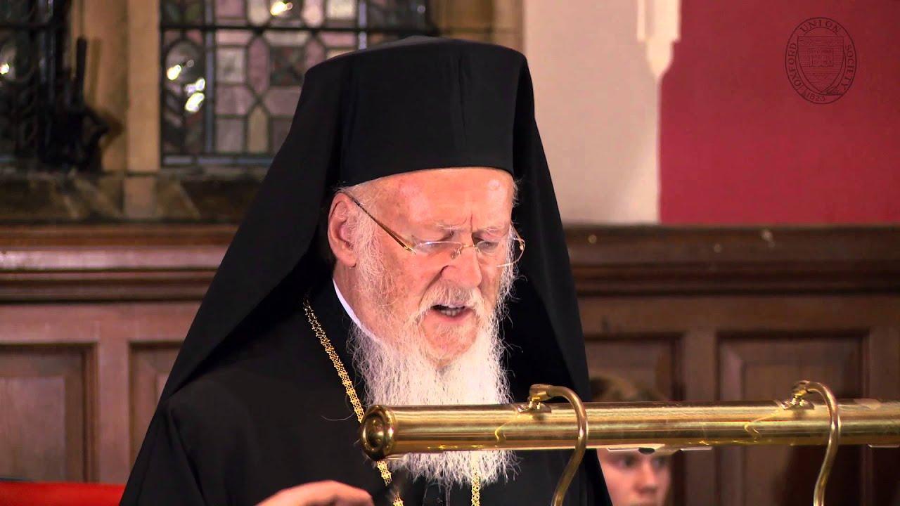 The Ecumenical Patriarch, Bartholomew I of Constantinople