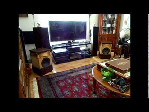Bose 501 Series II Speakers Demonstration