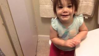 First Day of Potty Training!