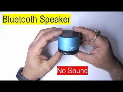 Bluetooth Speaker SK S10 Disassembly No Sound Solution