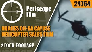 HUGHES OH-6A CAYUSE HELICOPTER SALES FILM  VIETNAM WAR   24764