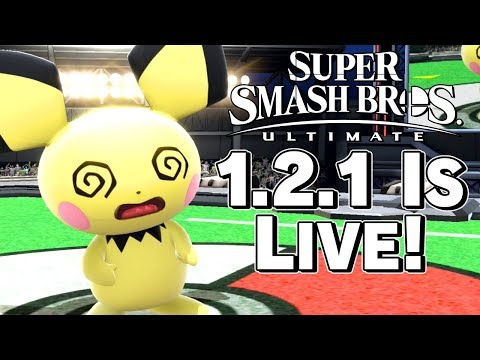 Smash Ultimate 1.2.1 OFFICIALLY LIVE! Patch Notes Discussion - Super Smash Bros. – Aaronitmar thumbnail