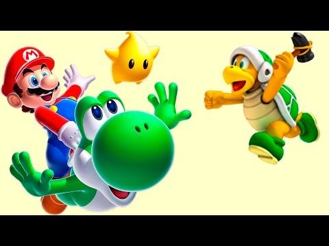  Супер Марио спасает принцессу Пич Мультик ИГРА для детей Часть 2