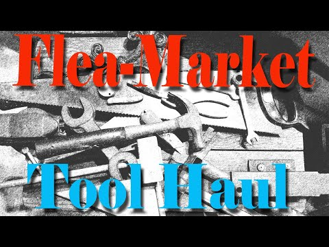 Flea-market Haul - Tools And Rusty Pocket Knives
