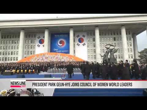 President Park Geun-hye joins Council of Women World Leaders