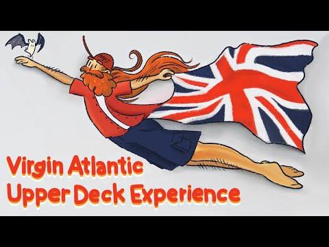 Virgin Atlantic 747 Full Flight Experience (Orlando - Glasgow) Upper Deck!