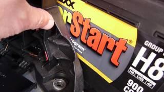 How I Replaced Audi A8 D3 Battery With Walmart EverStart Maxx H8