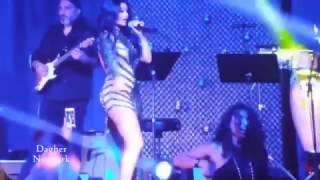 رقص و غناء هيفاء وهبي على مسرح لاس فيجاس