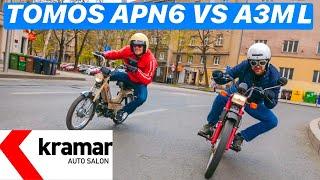 Tomos APN6 vs Automatic! 1na1 - Juraj Šebalj i Miroslav Zrnčević
