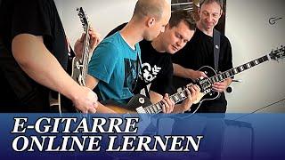 E-Gitarre Lernen Online WIE es wirklich funktioniert !!!