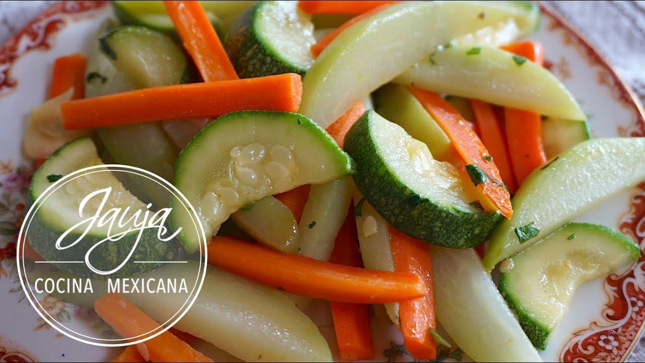 como preparar vegetales al vapor