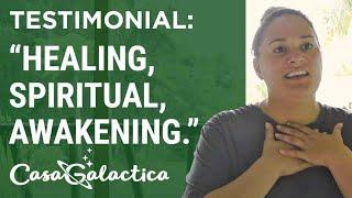 Ayahuasca Plant Spirit Healing Retreat Testimonial - Kasi | Casa Galactica