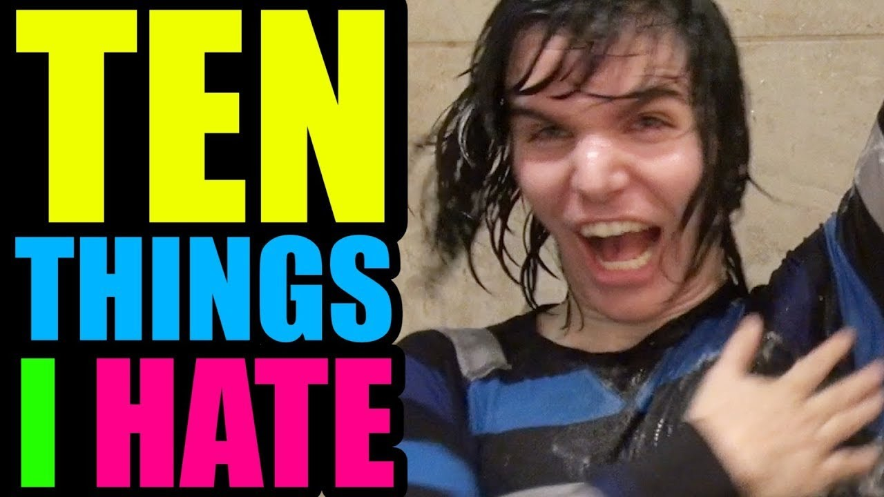 Things I Hate People Asking For: 10 THINGS I HATE ABOUT SHOWERING