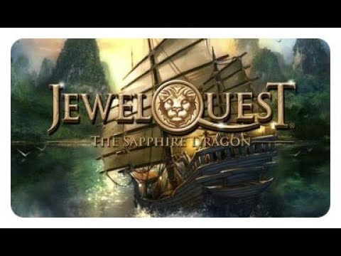 Jewel Quest The Sapphire Dragon Video Game - Part 1