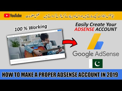 How to Create Perfect and Proper Google Adsense Account for YouTube 2019