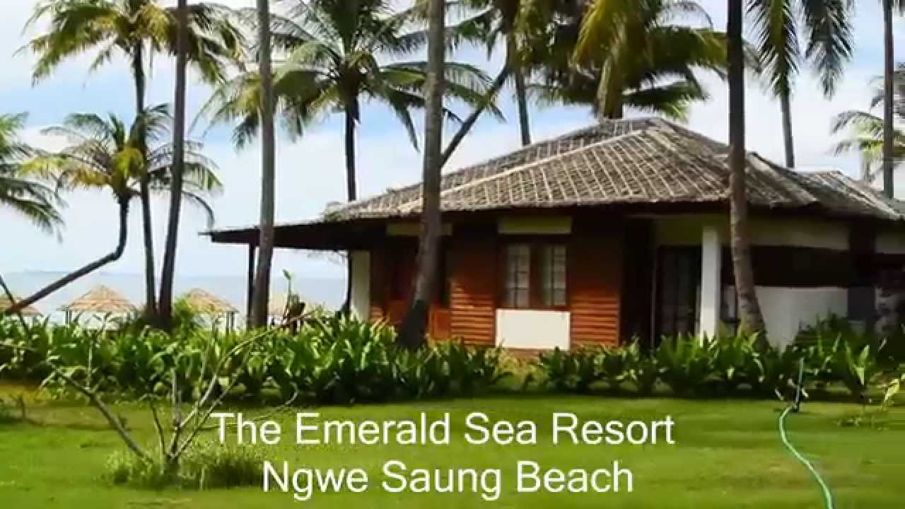 the emerald sea resort  ngwe saung beach - true-beachfront com