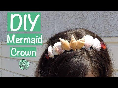 Easy DIY Mermaid Crown Headband