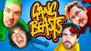 THE FUNNIEST MULTIPLAYER GAME! (Gang Beasts - Part 06) | PewDiePie