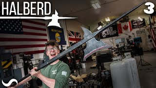 FORGING A HALBERD!!! Part 3