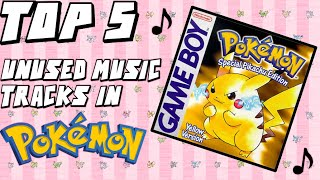 Top 5 UNUSED Music Tracks in Pokemon!