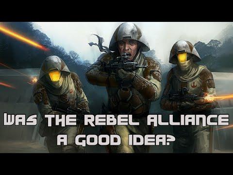 Star Wars Rethink: Was the Rebel Alliance a Good Idea?
