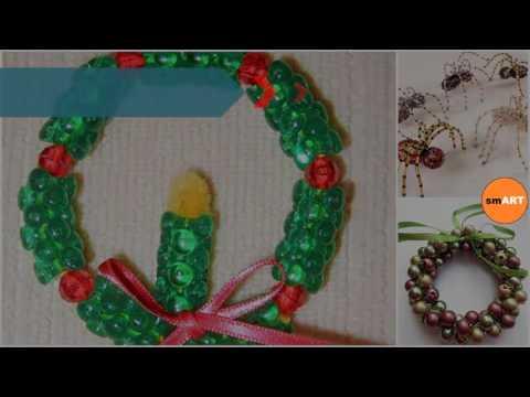 Beaded Christmas Ornaments - Beaded Christmas Ornament Crafts