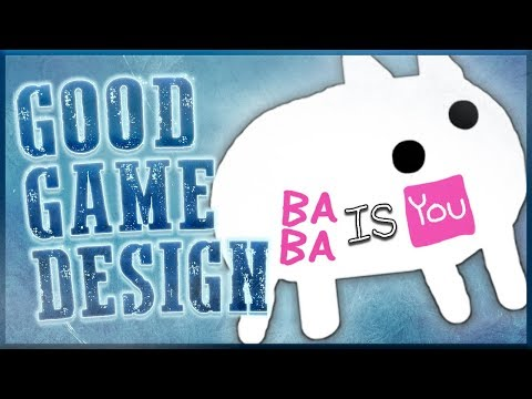 Good Game Design - Baba Is You