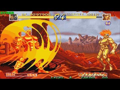 WORLD HEROES PERFECT「ワールド ヒーローズ パーフェクト」(ARCADE NEOGEO MVS) 1CC ZEUS (FULL GAMEPLAY)
