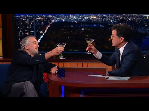 Robert De Niro Enjoys A Cold Martini And Silence, Full