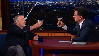 Robert De Niro Enjoys A Cold Martini And Silence, Full Interview