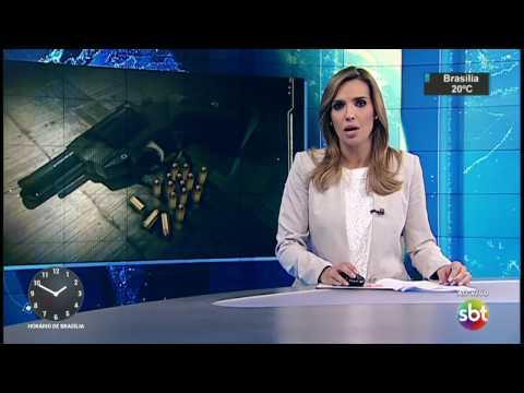 Criminosos em fuga fazem arrastão na zona leste de São Paulo - SBT Notícias (27/04/17)