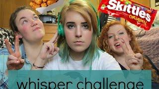 whisper challenge, tatertots, skittles