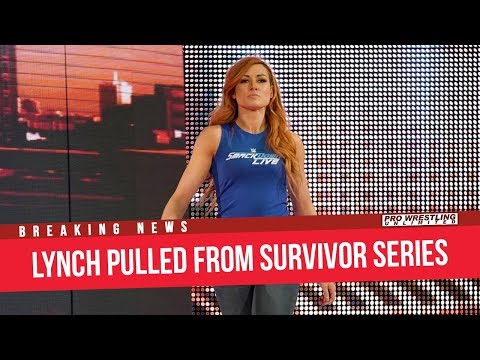 BREAKING NEWS: Becky Lynch Pulled From Survivor Series Following RAW Injury