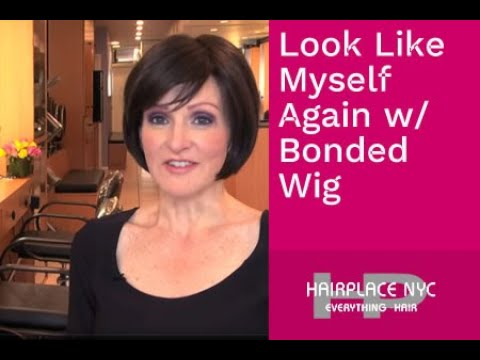 Christine Chose Bonded Lace Wig For Alopecia