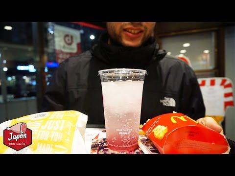 LA BEBIDA ROSA DEL McDONALD'S JAPONÉS | Japón con jamón