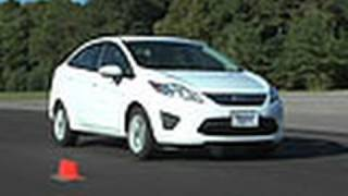 2011-2013 Ford Fiesta Review | Consumer Reports(The Ford Fiesta does a lot really well: it's very fuel-efficient, has nimble handling, and rides like a larger car. But there are problems, too. Learn more about the ..., 2010-10-27T16:05:58.000Z)