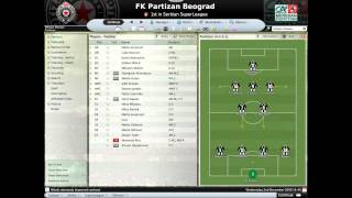 Football Manager 2008 - FK Partizan