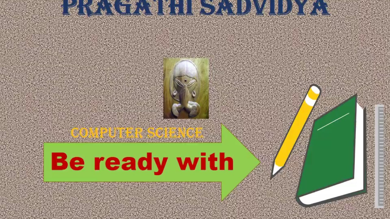 Computer Science | Typical Configuration of computer