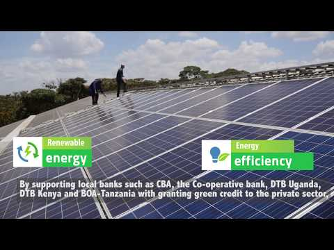 East Africa: promoting investments in renewable energy and energy efficiency