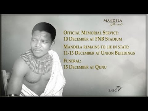 SABC TV Live Stream Coverage: Nelson Mandela tribute, 13 Dec 2013