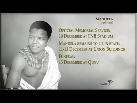 SABC TV Live Stream Coverage: Nelson Mandela Tribute, 13 Dec 2013
