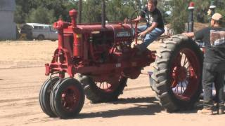 Antique Tractor Pulling Ft Lupton Trapper Days NCATP