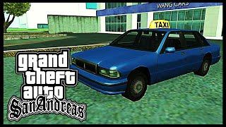 GTA: San Andreas - Vehicle Mission: Taxi Driver (50 Fares) [HD]