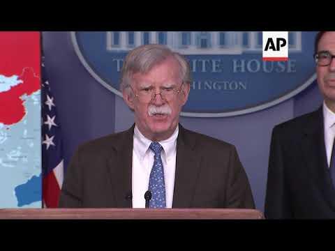 US hits Venezuelan oil company with sanctions